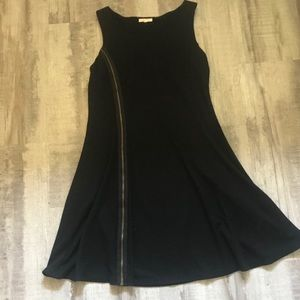 Mystree Little Black Dress with Zipper Size Large